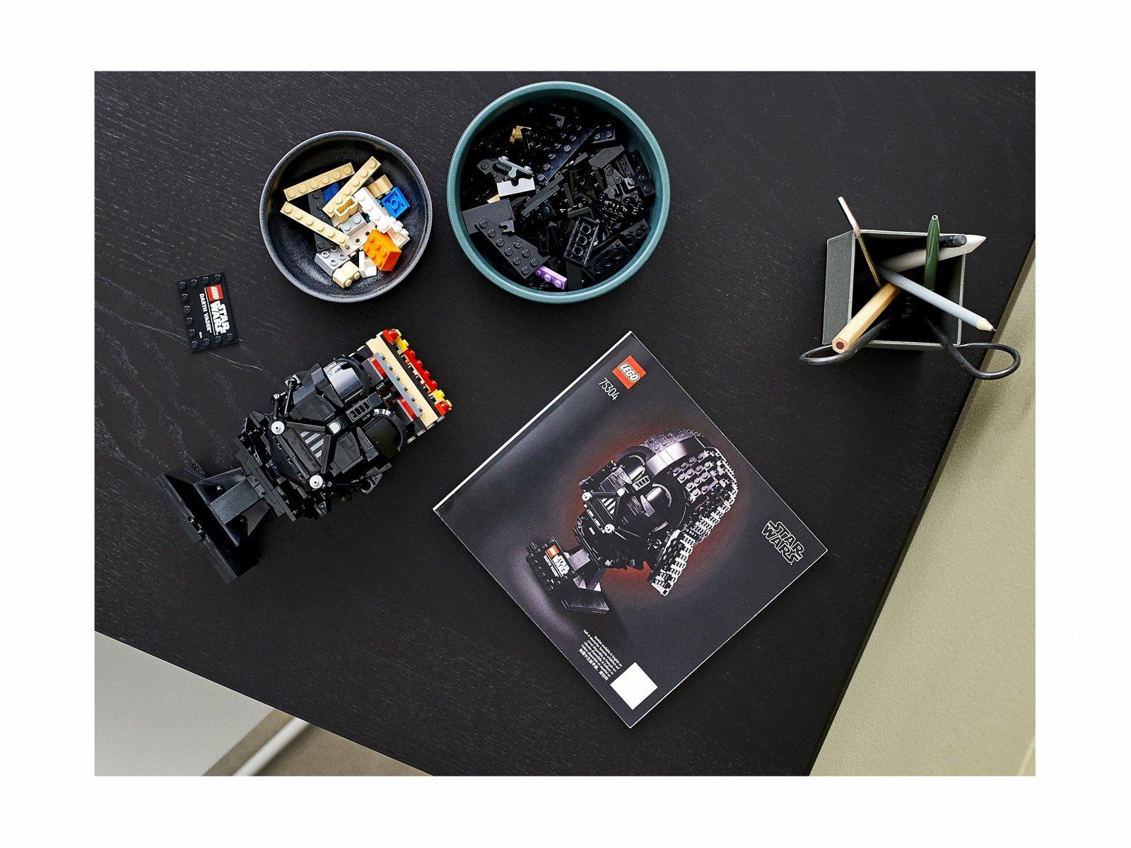 LEGO 75304 Hełm Dartha Vadera™