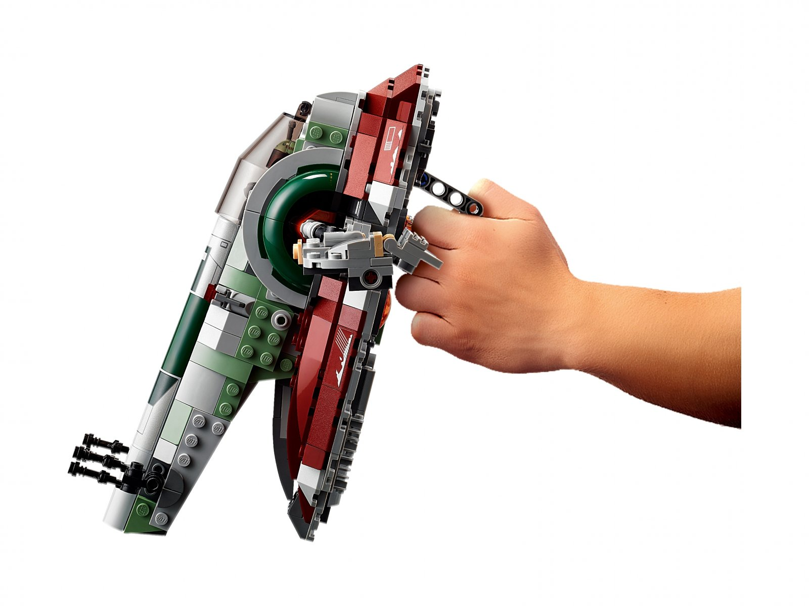 LEGO Star Wars Statek kosmiczny Boby Fetta™ 75312