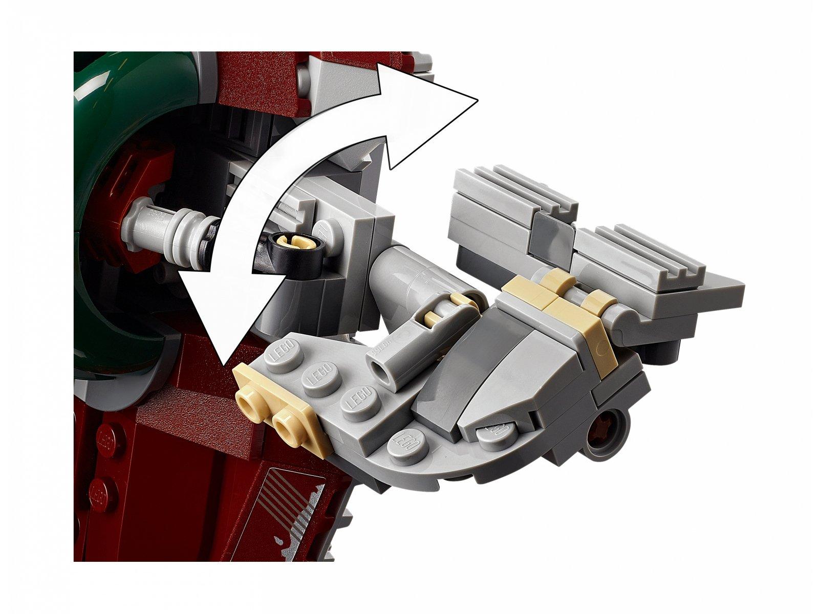 LEGO 75312 Statek kosmiczny Boby Fetta™