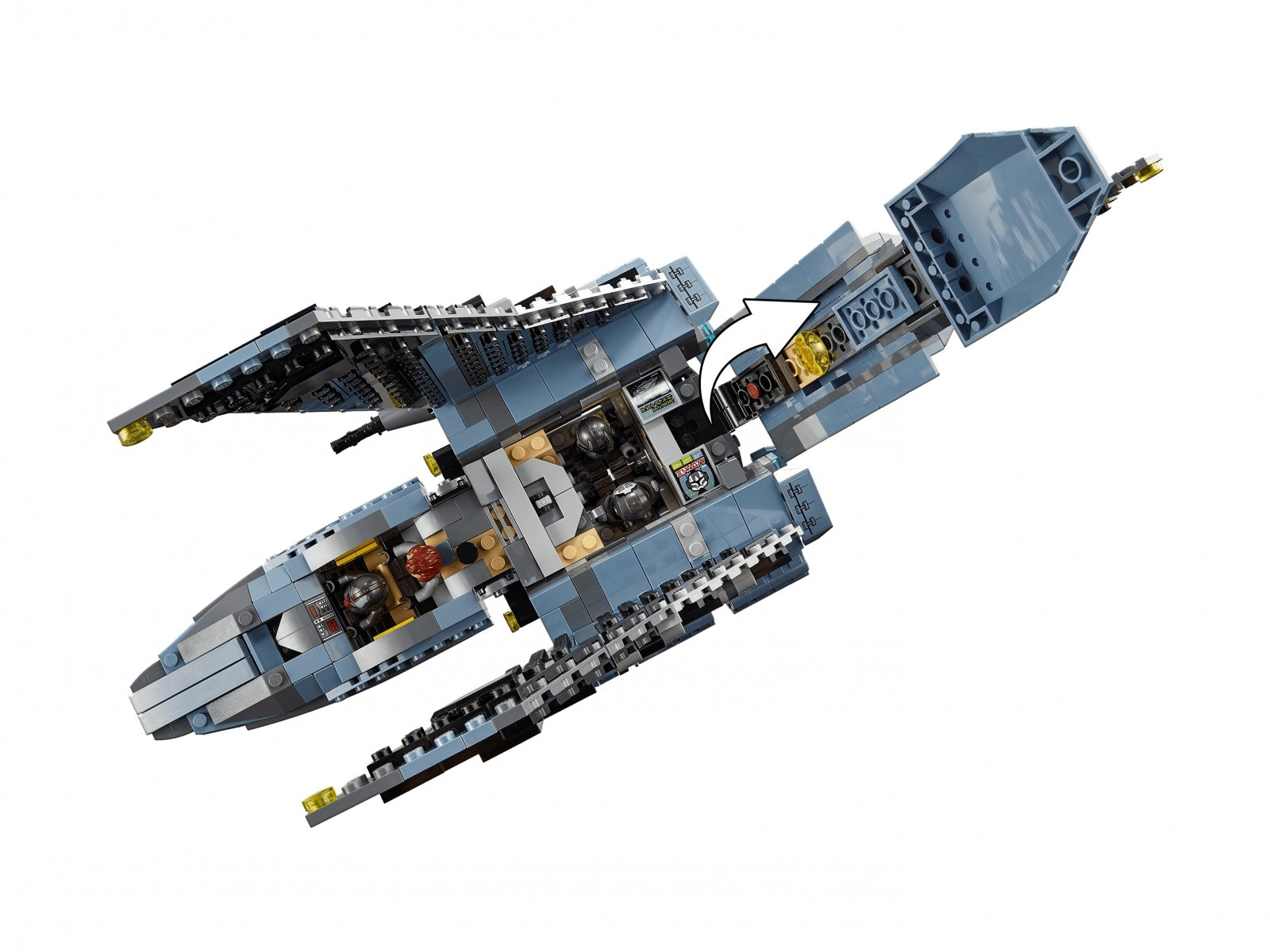 LEGO Star Wars 75314 Prom szturmowy Parszywej Zgrai™