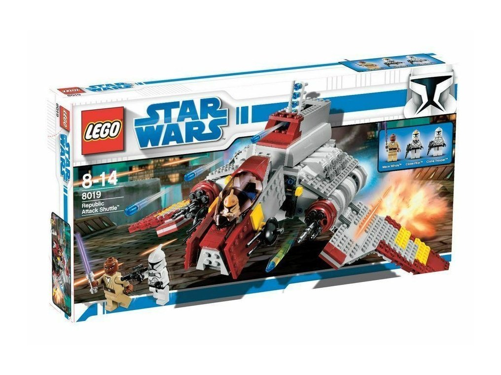 LEGO Star Wars™ Republic Attack Shuttle™ 8019