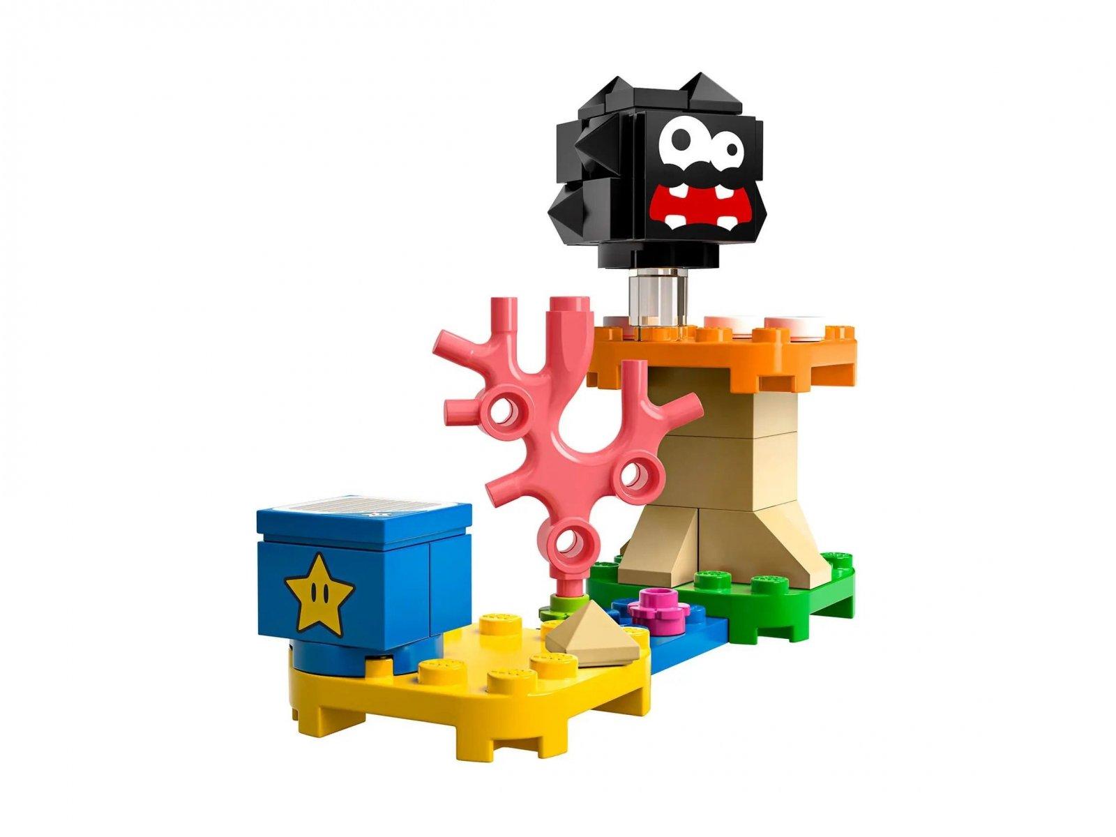 LEGO Super Mario 30389 Fuzzy i platforma z grzybem