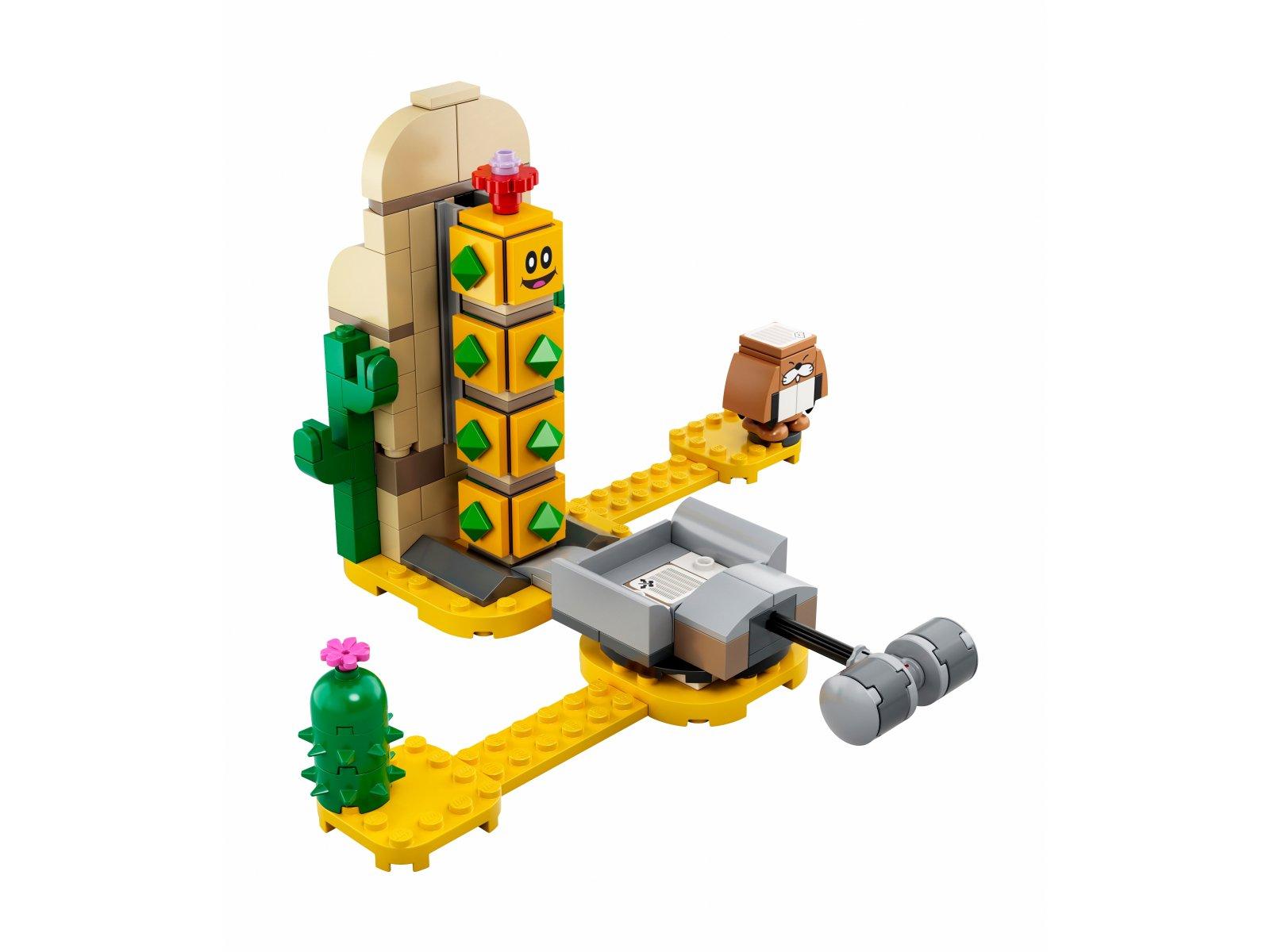 LEGO 71363 Super Mario™ Pustynny Pokey - zestaw rozszerzający