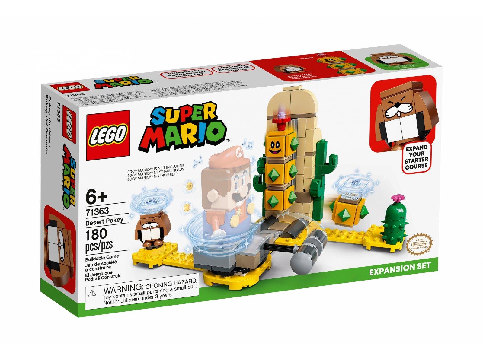 LEGO 71363 Pustynny Pokey - zestaw rozszerzający
