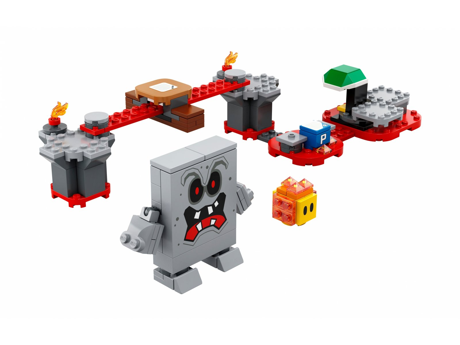 LEGO Super Mario 71364 Tarapaty w forcie Whompa - zestaw rozszerzający