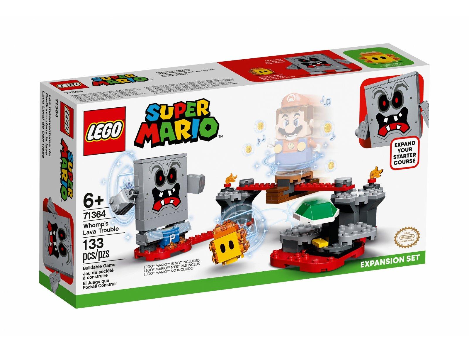 LEGO Super Mario™ Tarapaty w forcie Whompa - zestaw rozszerzający 71364