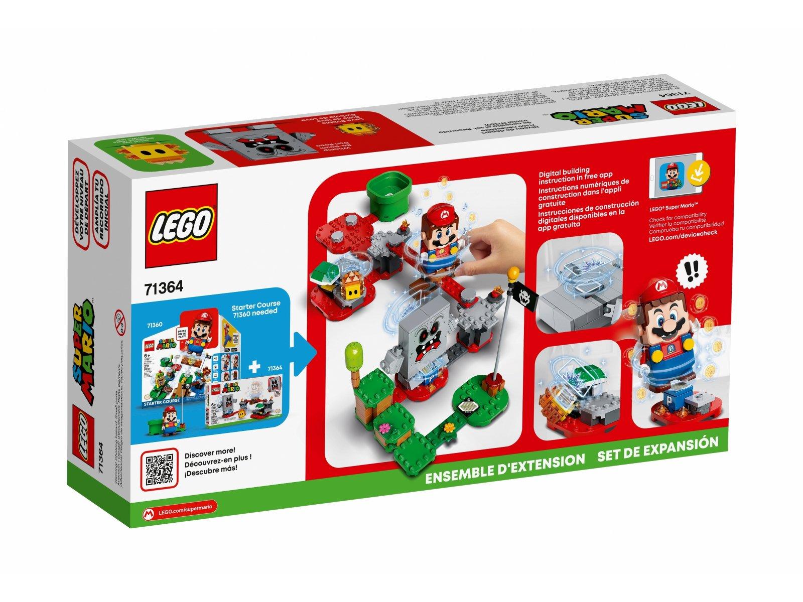 LEGO 71364 Tarapaty w forcie Whompa - zestaw rozszerzający