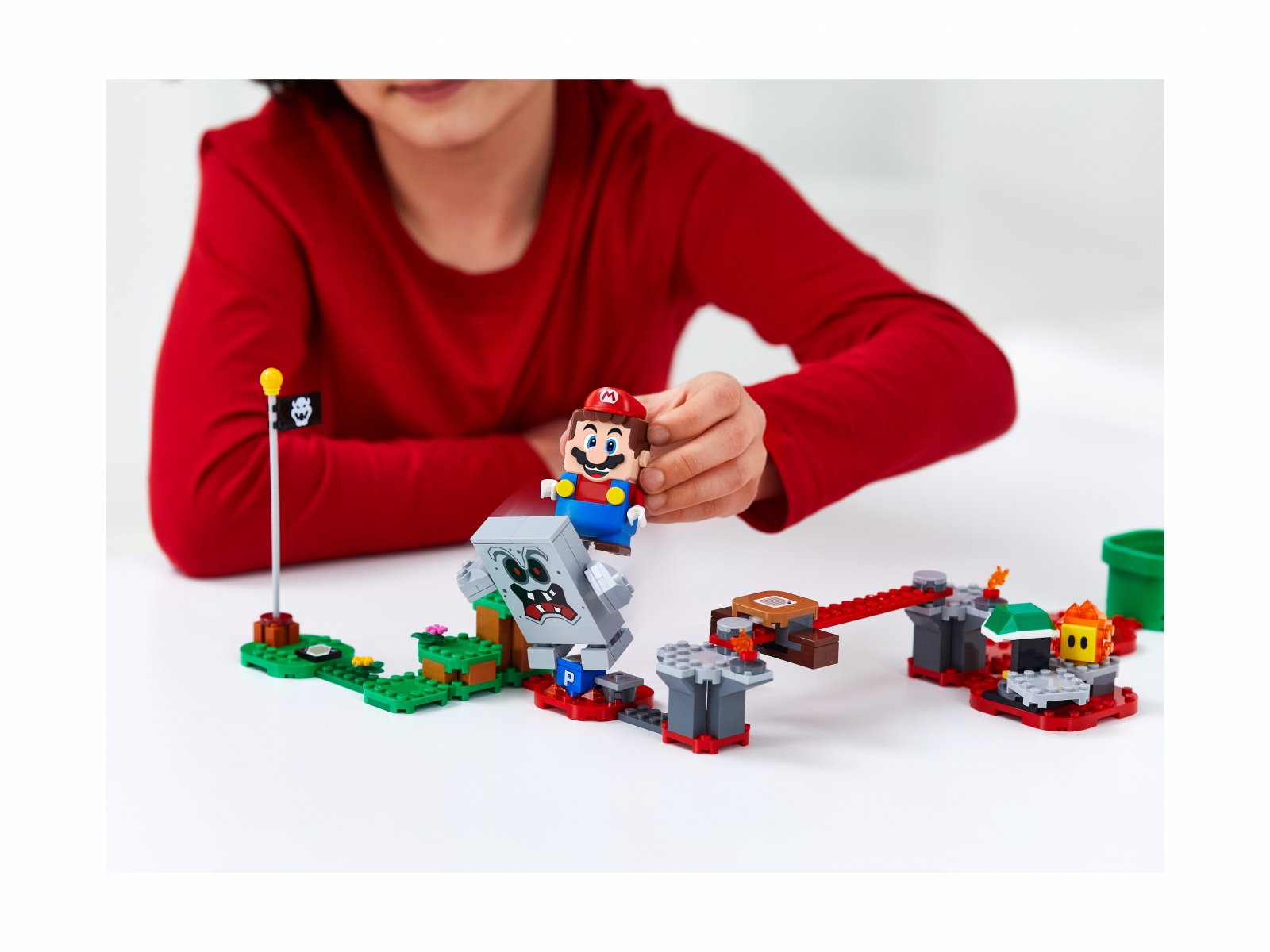 LEGO Super Mario™ 71364 Tarapaty w forcie Whompa - zestaw rozszerzający