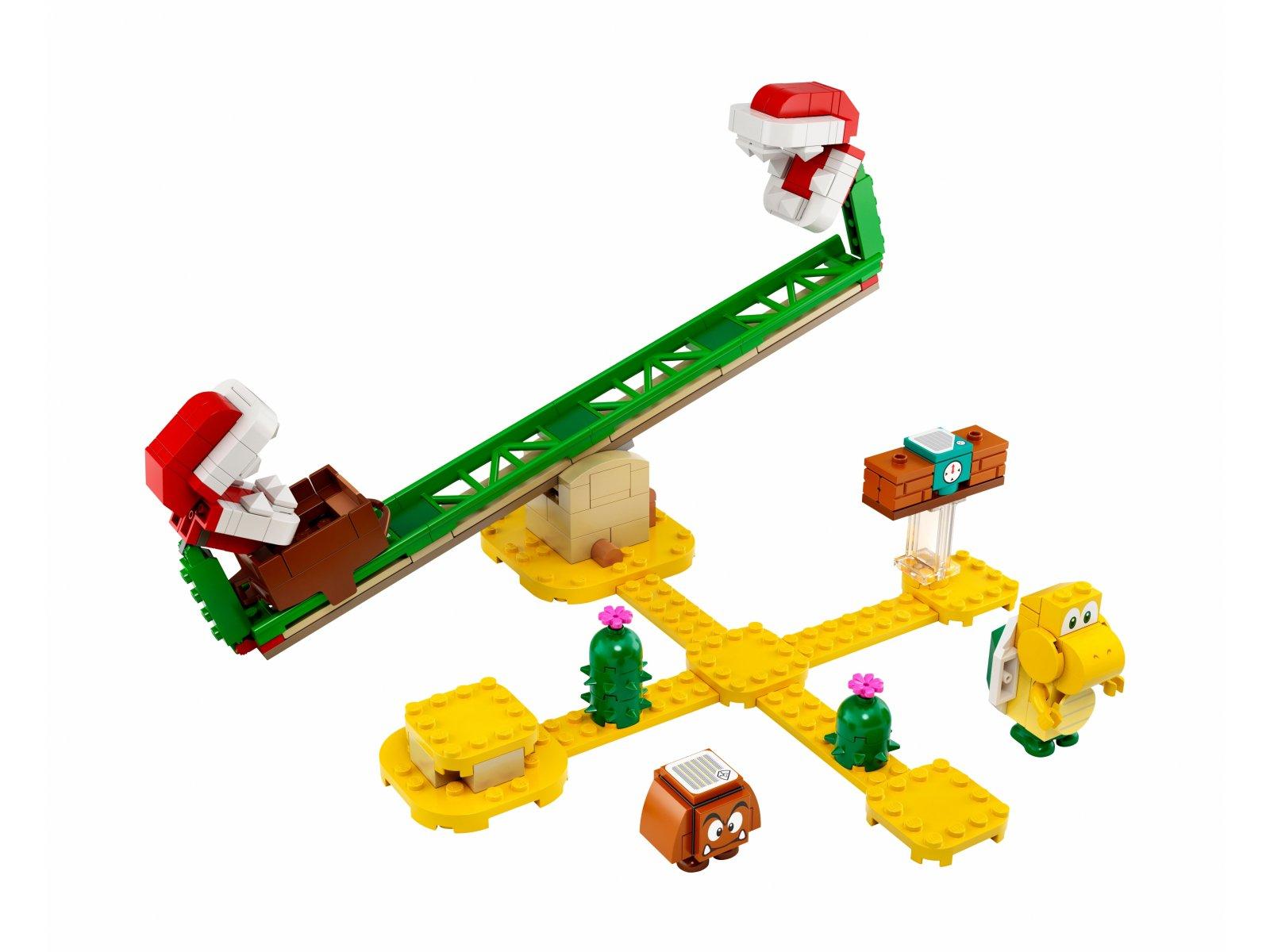 LEGO Super Mario 71365 Megazjeżdżalnia Piranha Plant - zestaw rozszerzający