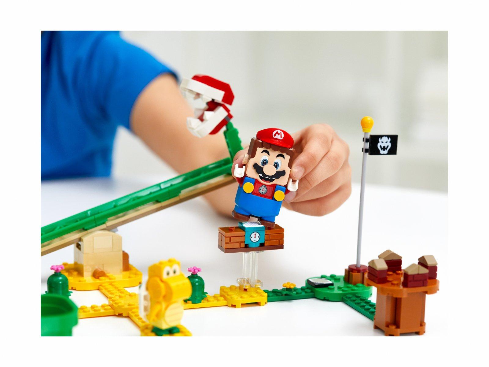 LEGO 71365 Megazjeżdżalnia Piranha Plant - zestaw rozszerzający