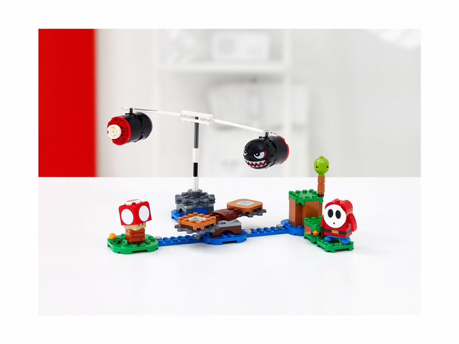 LEGO 71366 Ostrzał Banzai Bill - zestaw rozszerzający