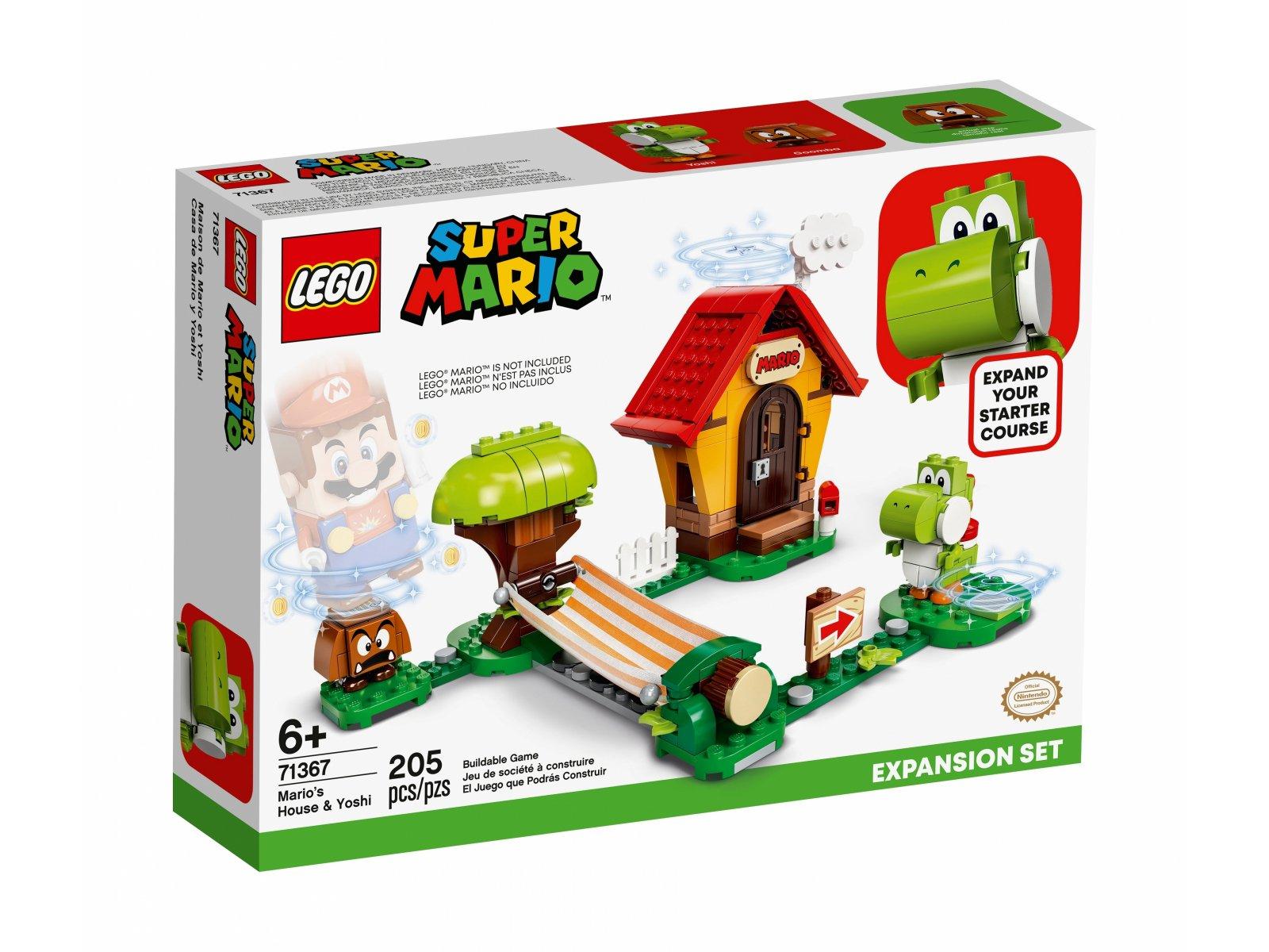 LEGO 71367 Super Mario Yoshi i dom Mario - zestaw rozszerzający