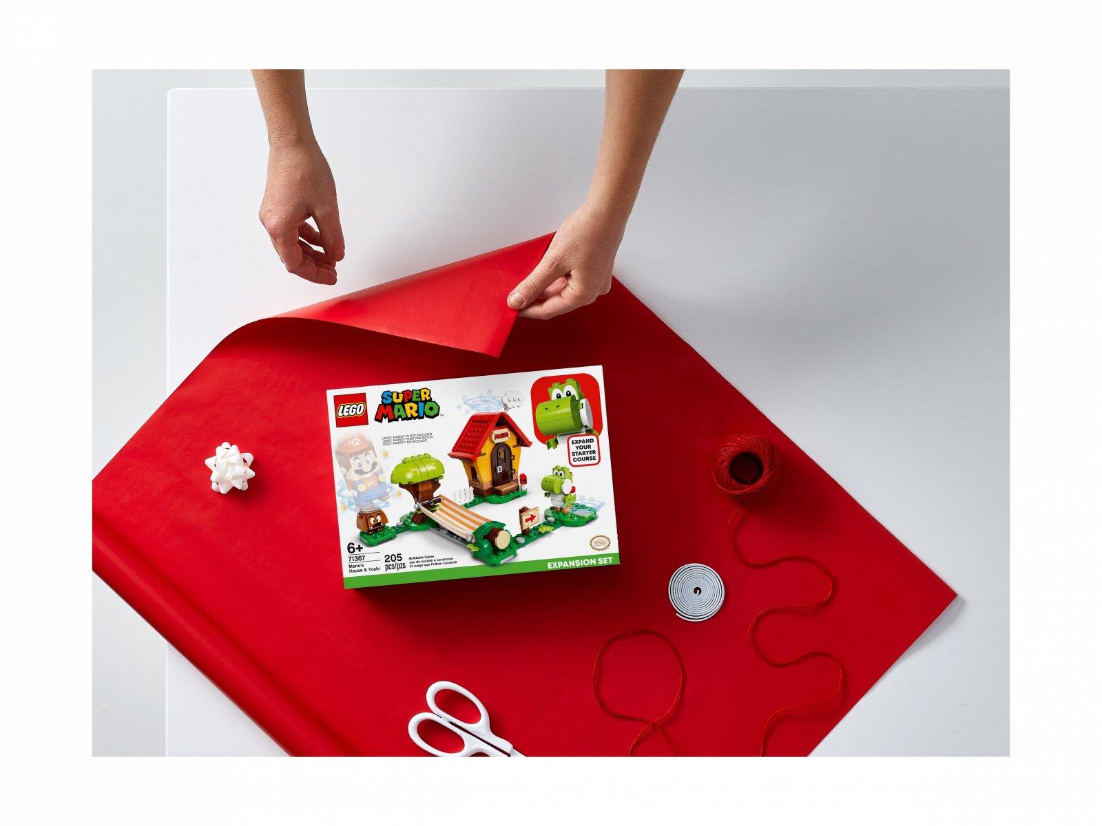 LEGO 71367 Yoshi i dom Mario - zestaw rozszerzający