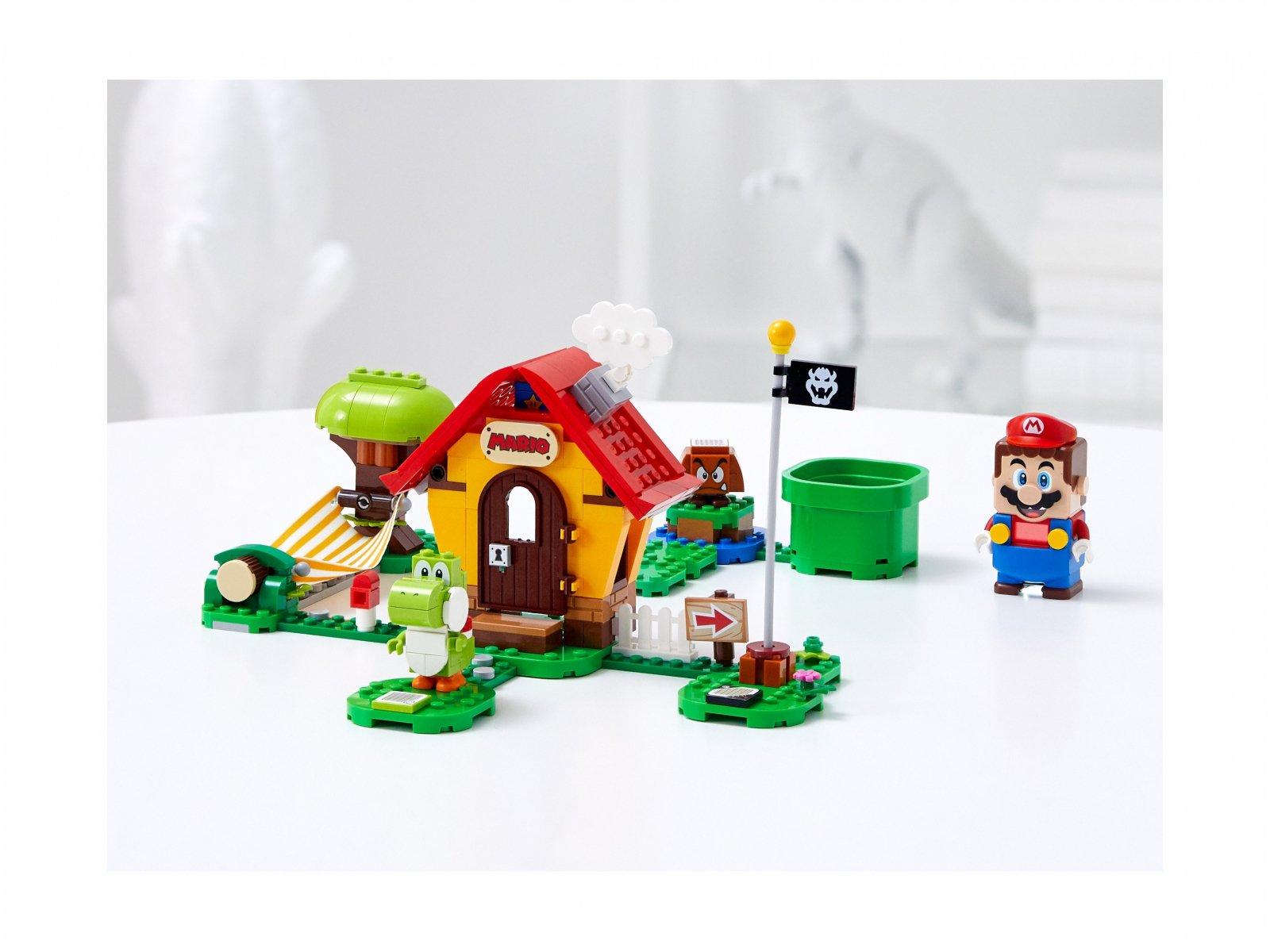 LEGO Super Mario Yoshi i dom Mario - zestaw rozszerzający 71367