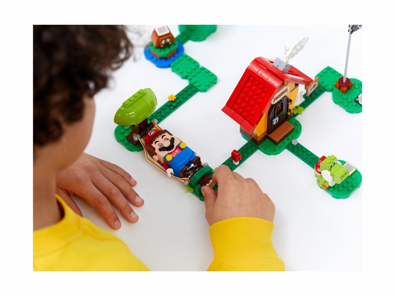 LEGO Super Mario 71367 Yoshi i dom Mario - zestaw rozszerzający
