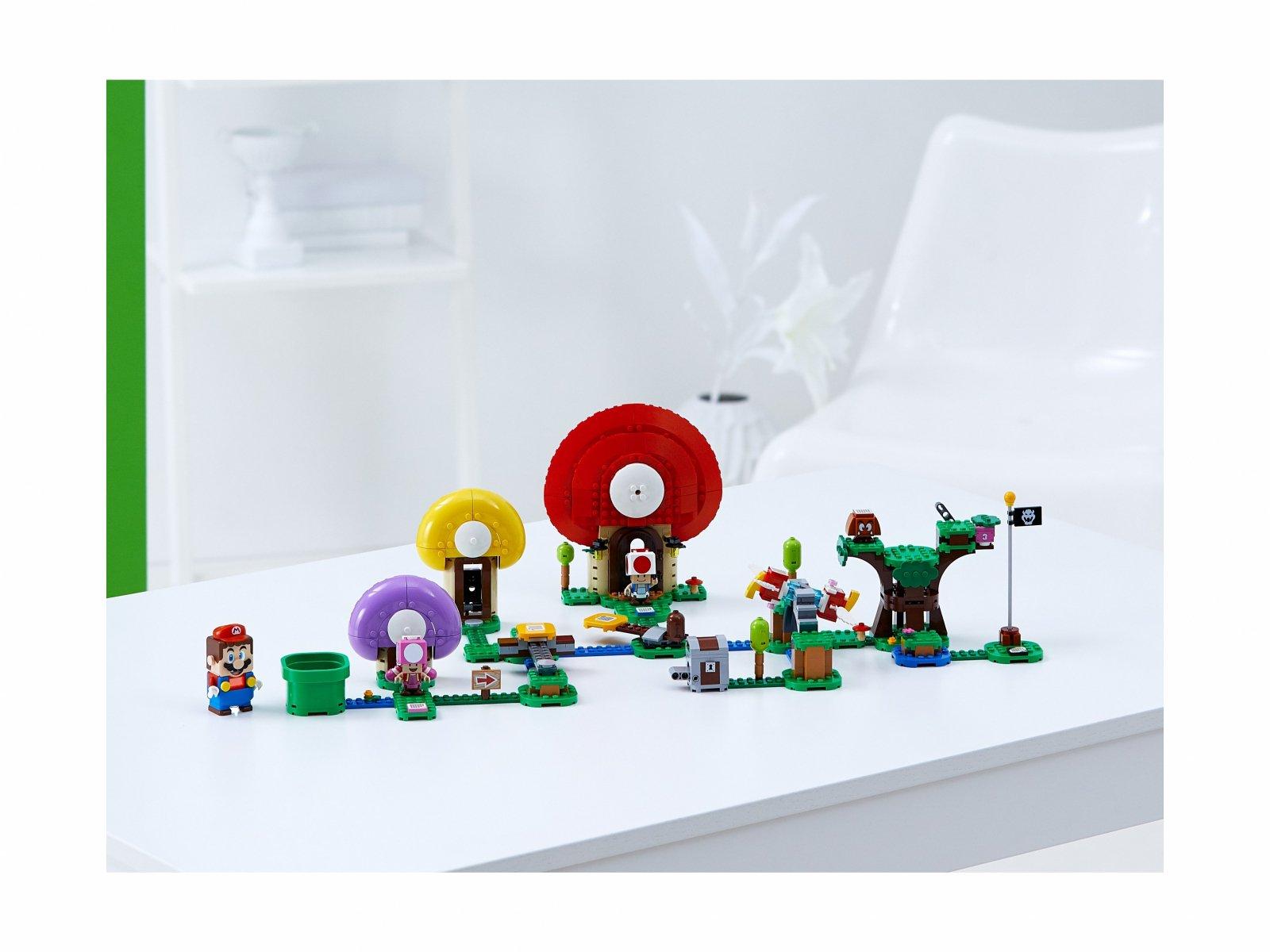LEGO Super Mario™ Toad szuka skarbu - zestaw rozszerzający 71368