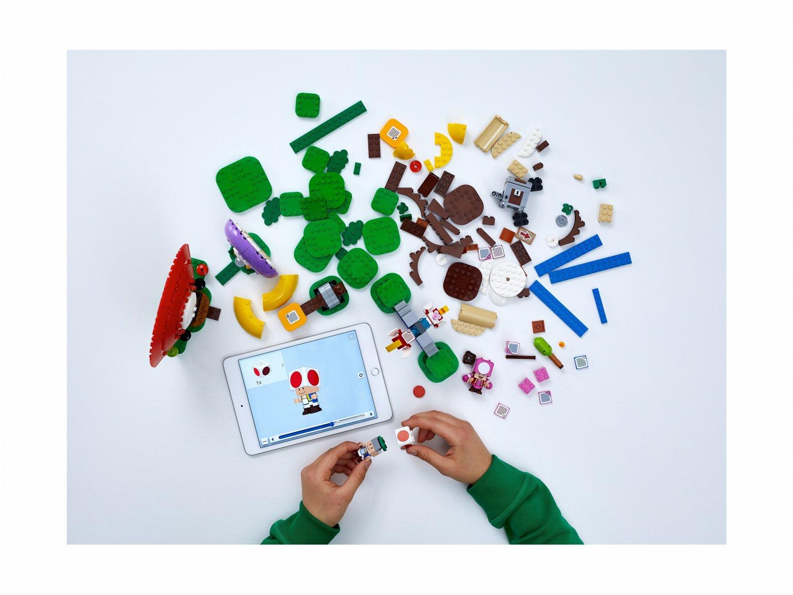 LEGO Super Mario Toad szuka skarbu - zestaw rozszerzający 71368