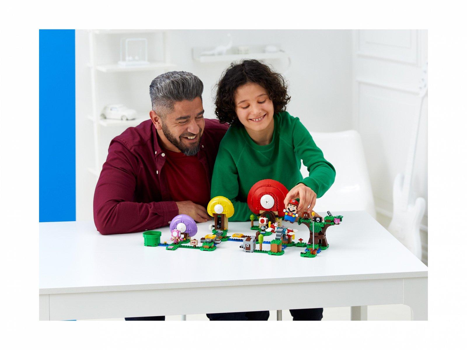 LEGO Super Mario™ 71368 Toad szuka skarbu - zestaw rozszerzający