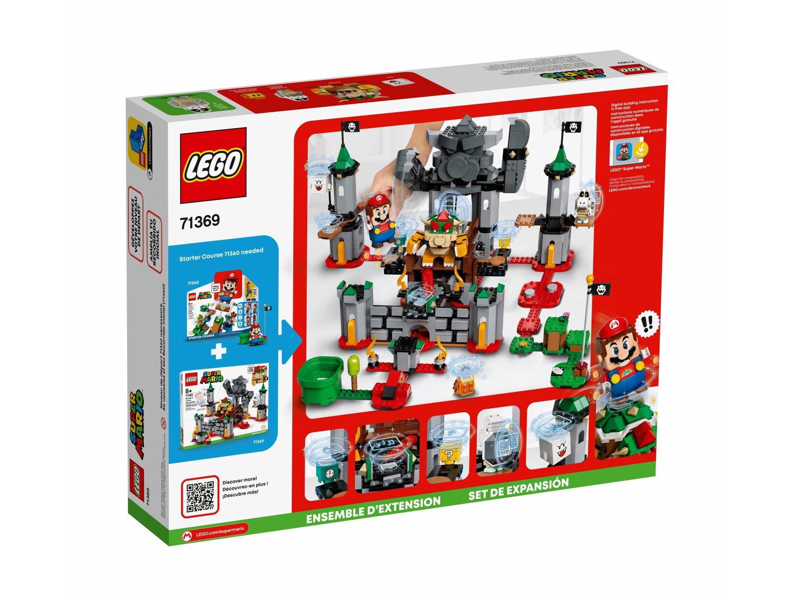 LEGO 71369 Walka w zamku Bowsera - zestaw rozszerzający