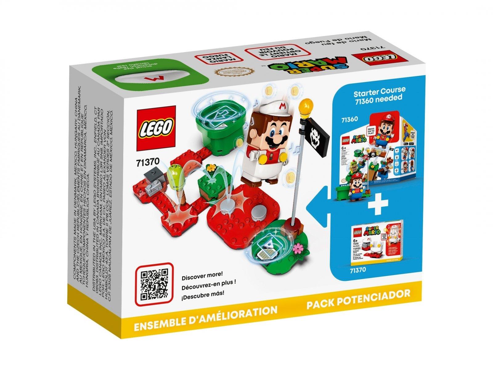 LEGO Super Mario 71370 Ognisty Mario - dodatek