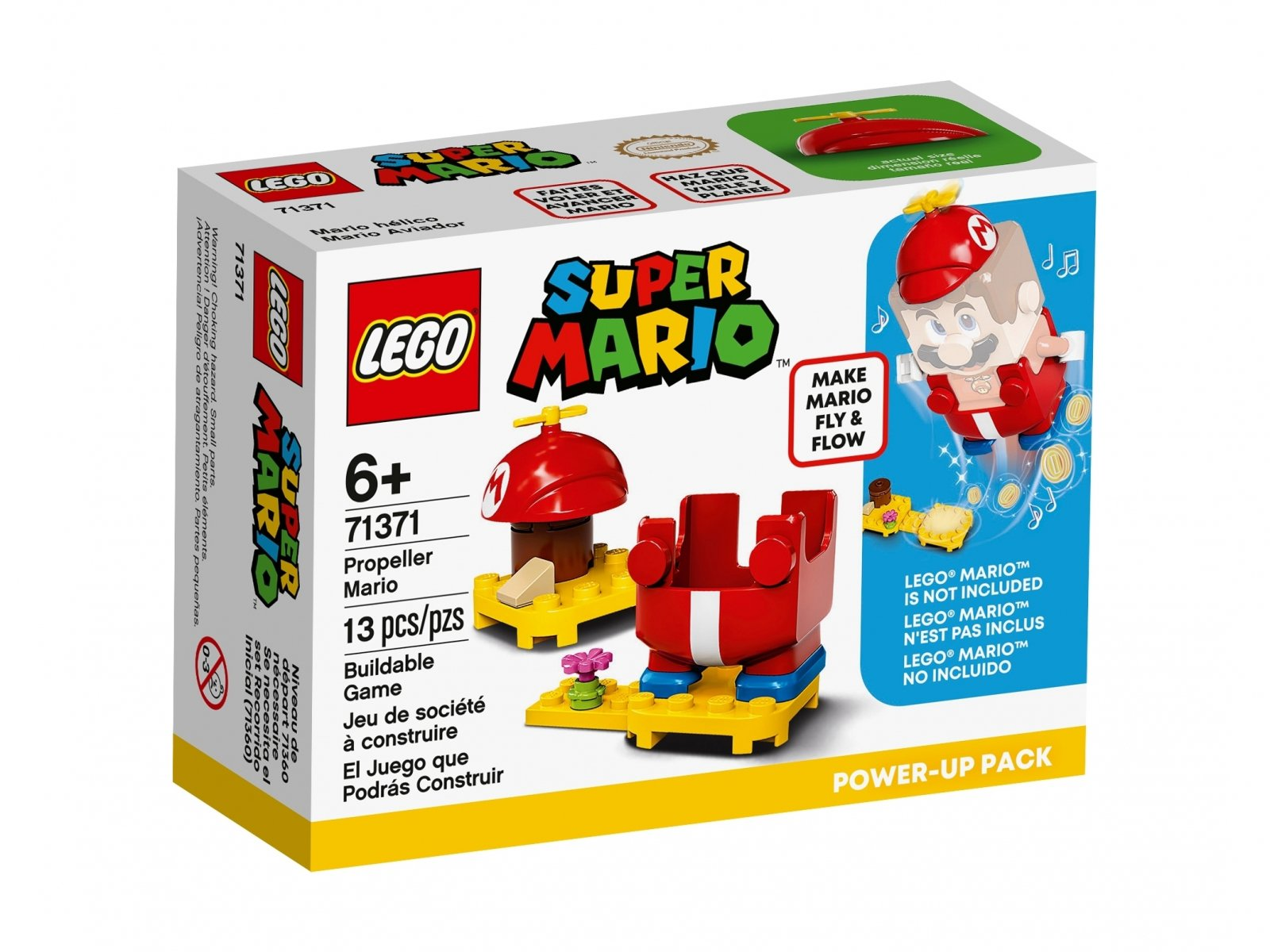 LEGO Super Mario™ 71371 Helikopterowy Mario - dodatek