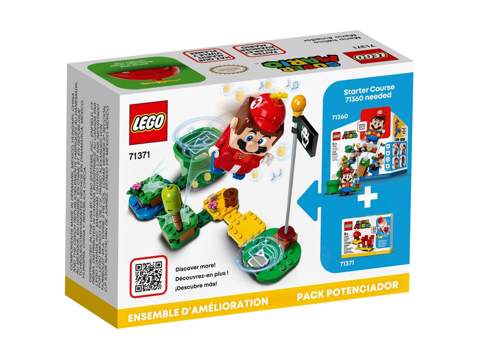 LEGO 71371 Super Mario™ Helikopterowy Mario - dodatek