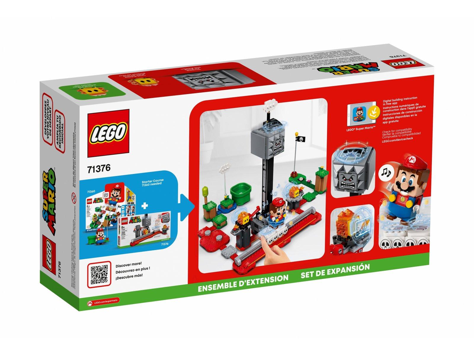 LEGO 71376 Spadający Thwomp - zestaw rozszerzający