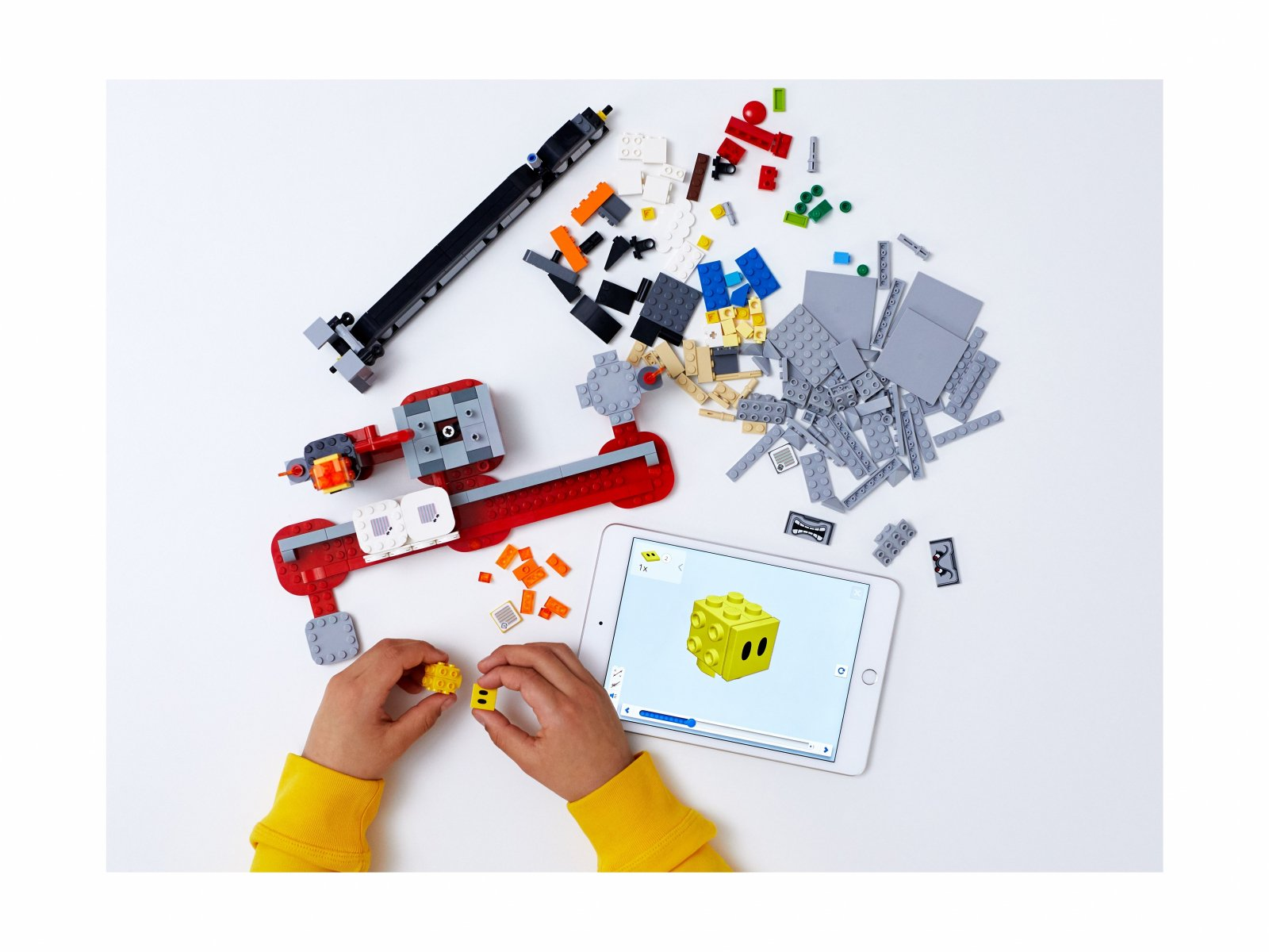 LEGO Super Mario Spadający Thwomp - zestaw rozszerzający 71376
