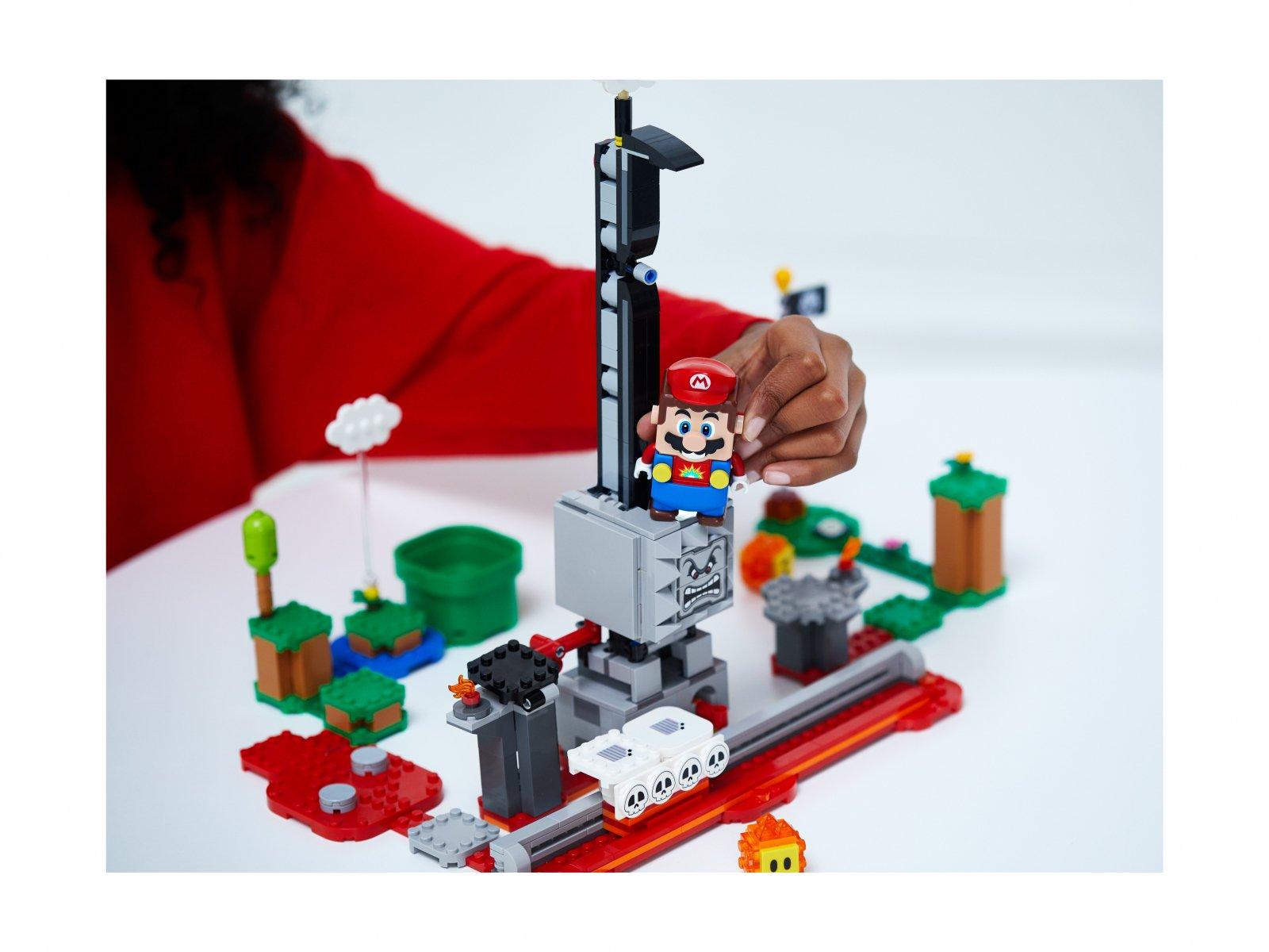 LEGO Super Mario 71376 Spadający Thwomp - zestaw rozszerzający