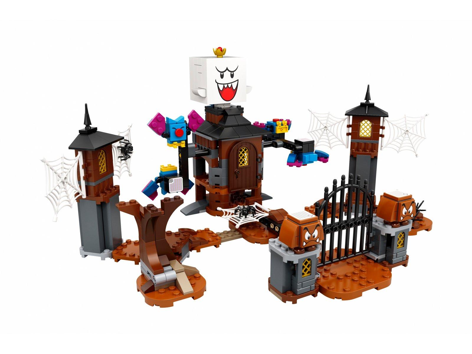 LEGO Super Mario King Boo i nawiedzone podwórze - zestaw rozszerzający 71377