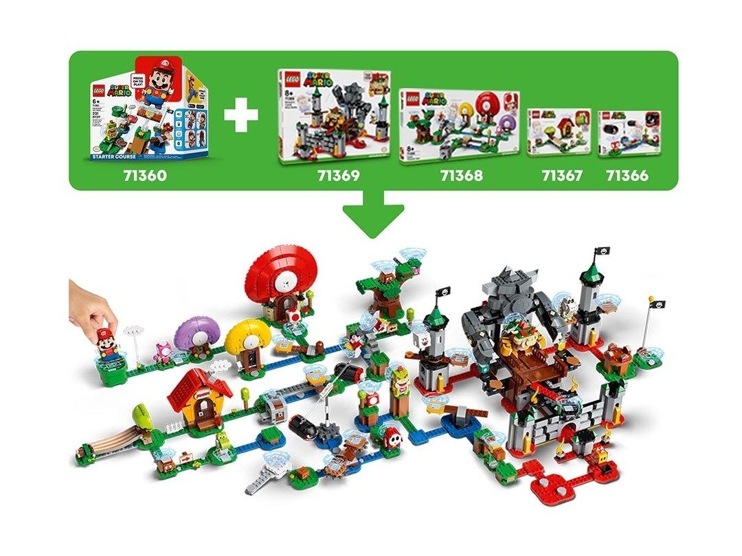 LEGO Super Mario 71377 King Boo i nawiedzone podwórze - zestaw rozszerzający