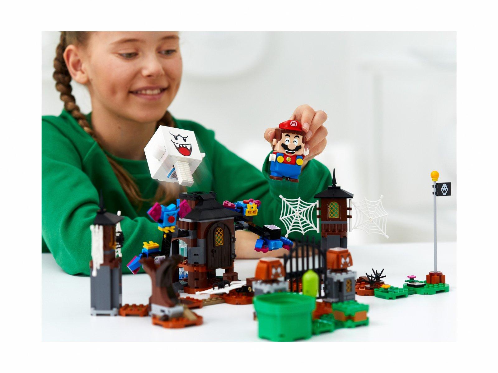 LEGO 71377 Super Mario King Boo i nawiedzone podwórze - zestaw rozszerzający