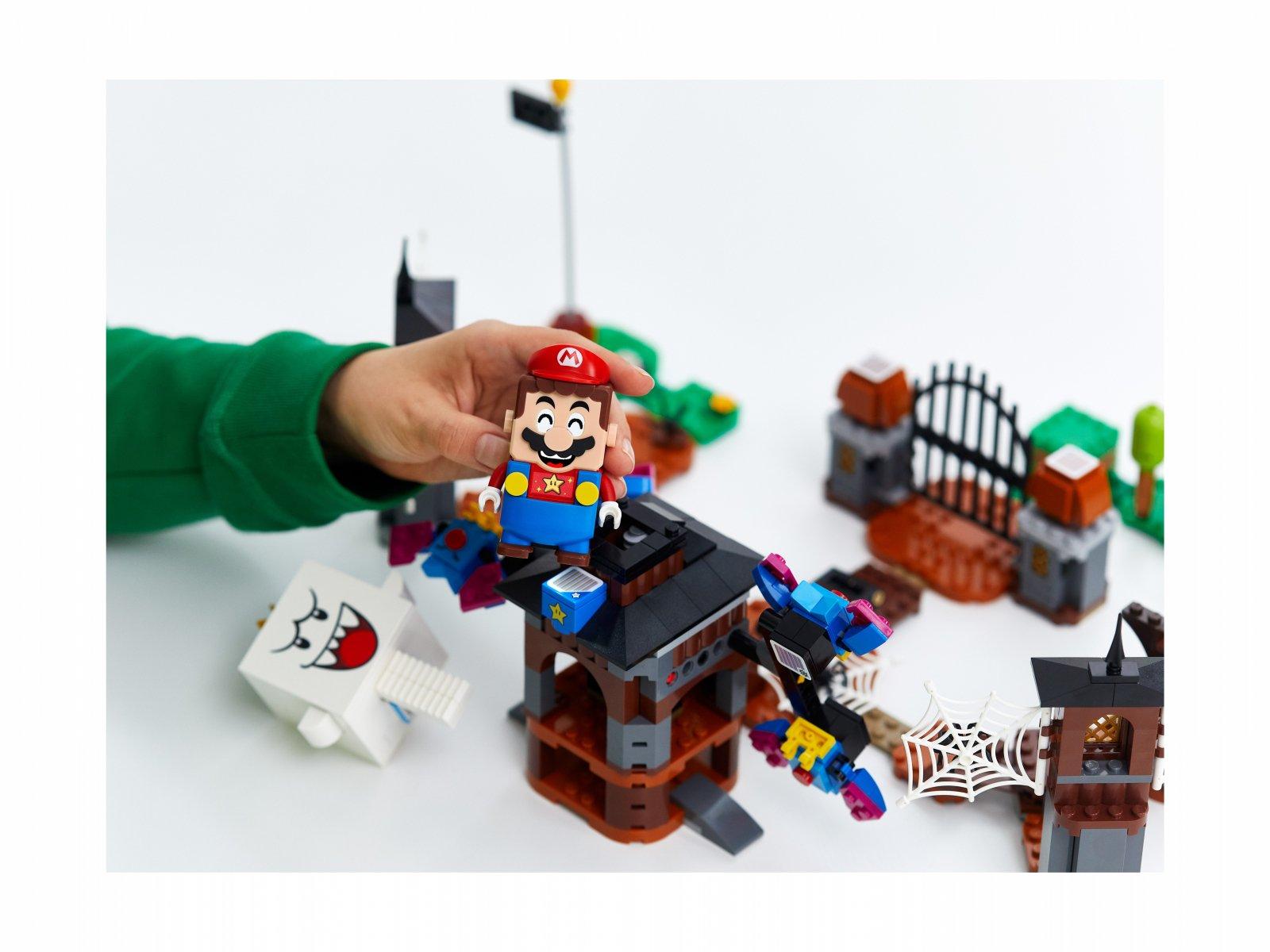 LEGO 71377 King Boo i nawiedzone podwórze - zestaw rozszerzający