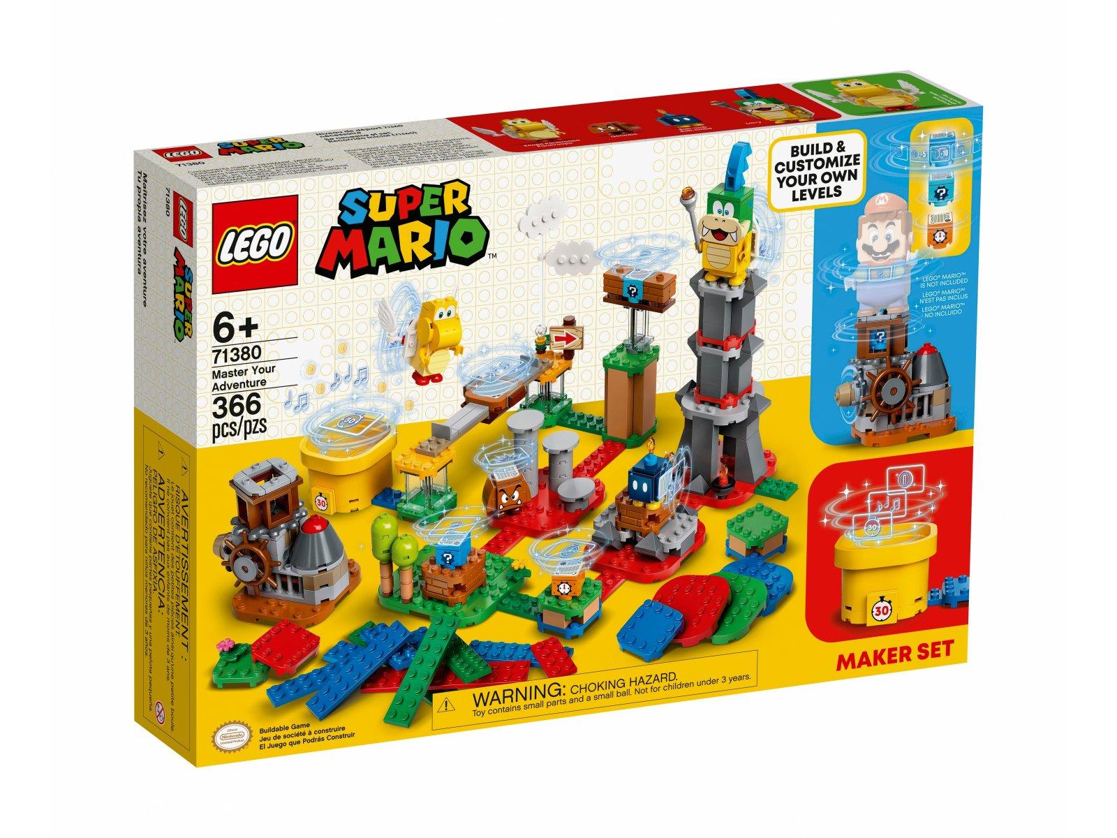 LEGO 71380 Mistrzowskie przygody - zestaw twórcy