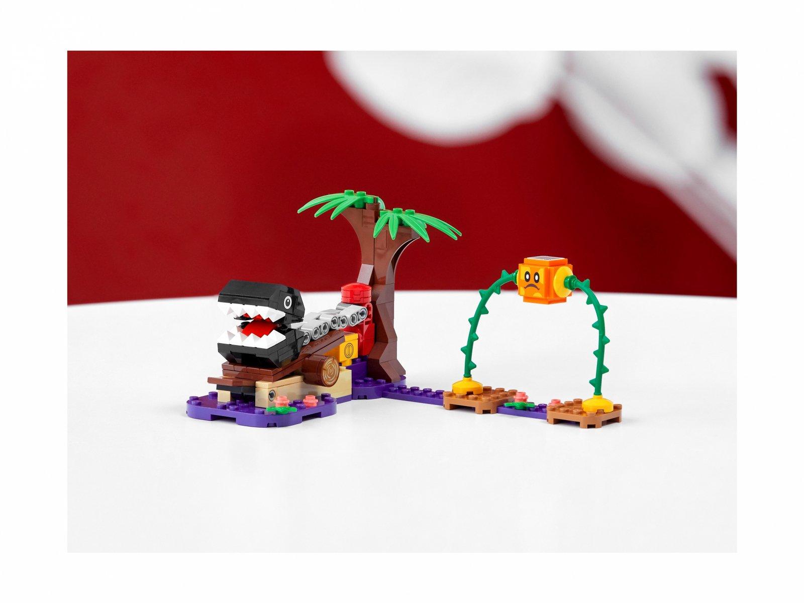 LEGO Super Mario Spotkanie z Chain Chompem w dżungli - zestaw dodatkowy 71381