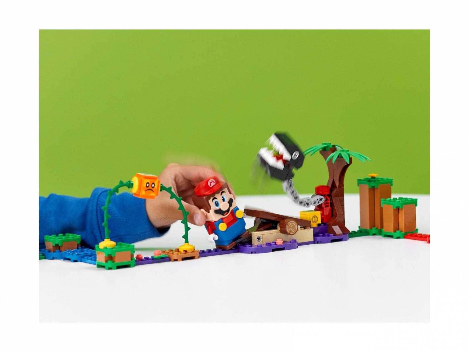 LEGO 71381 Spotkanie z Chain Chompem w dżungli - zestaw dodatkowy