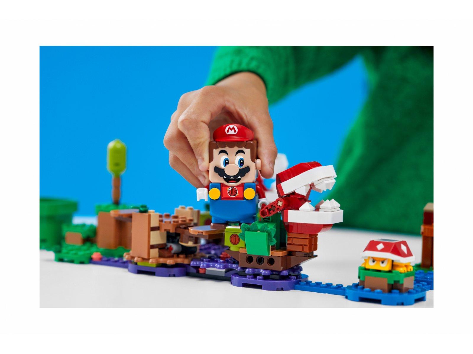 LEGO Super Mario™ Zawikłane zadanie Piranha Plant - zestaw rozszerzający 71382