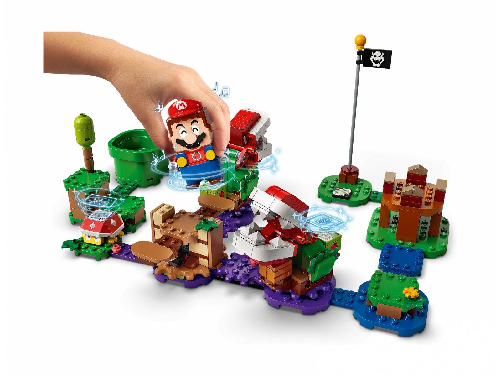 LEGO 71382 Super Mario™ Zawikłane zadanie Piranha Plant - zestaw rozszerzający