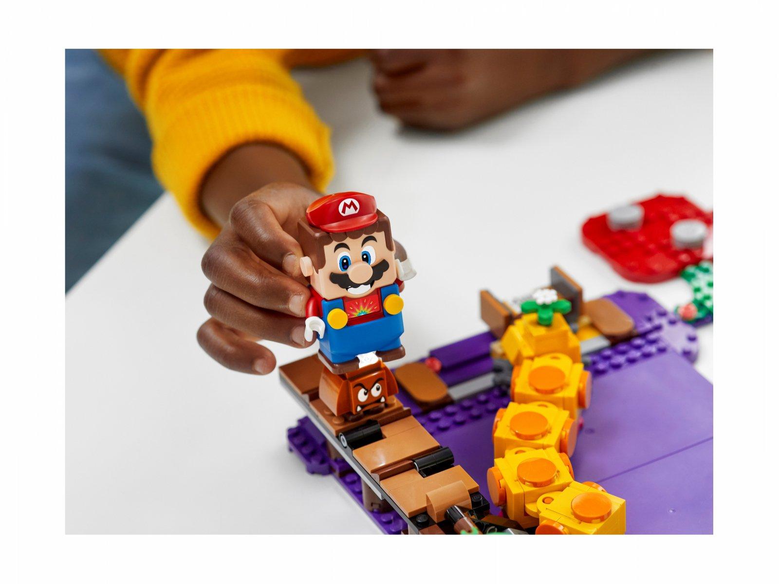 LEGO Super Mario™ 71383 Trujące bagno Wigglera - zestaw dodatkowy