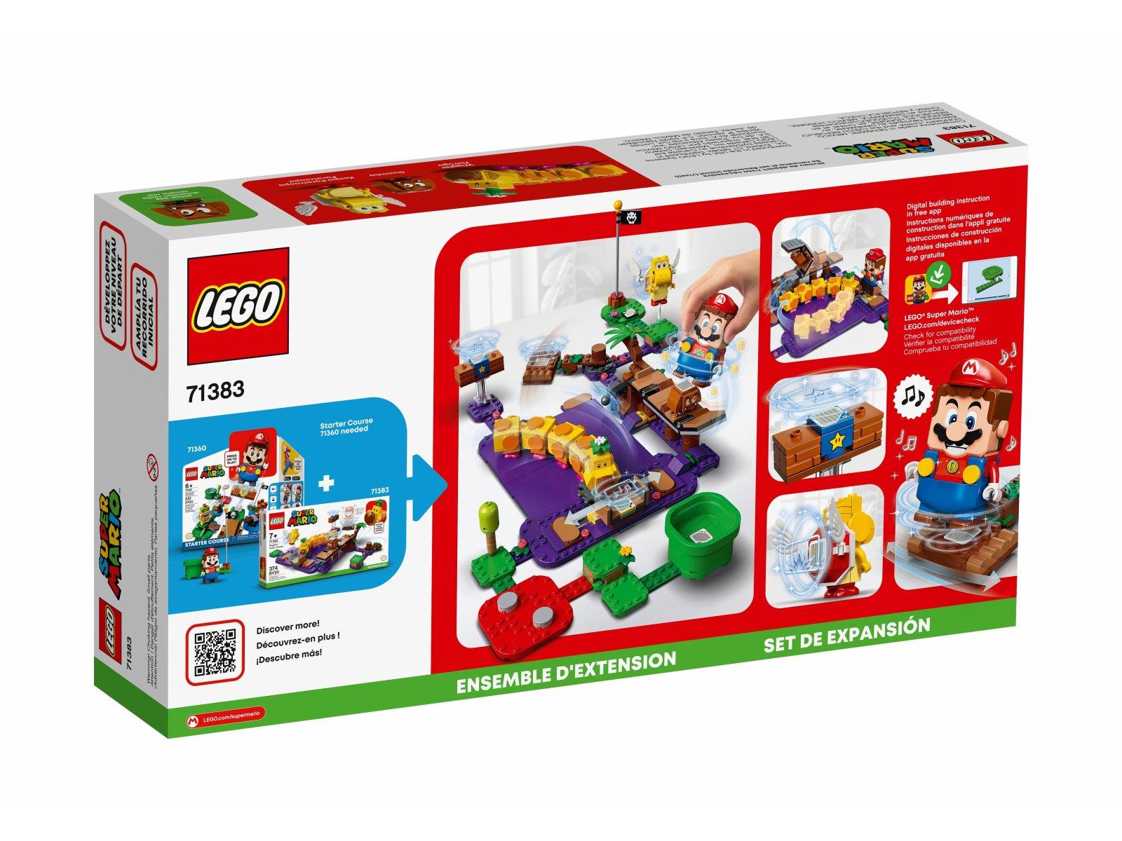 LEGO Super Mario™ Trujące bagno Wigglera - zestaw dodatkowy 71383