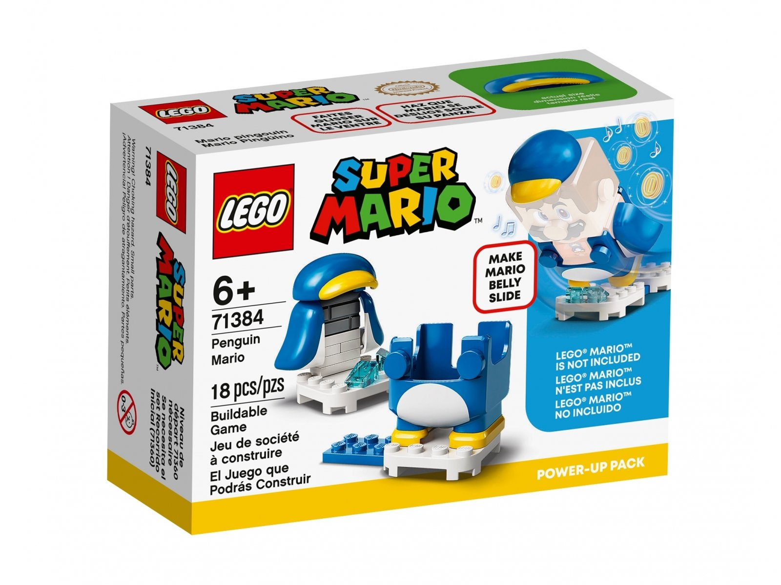 LEGO Super Mario™ 71384 Mario pingwin - ulepszenie