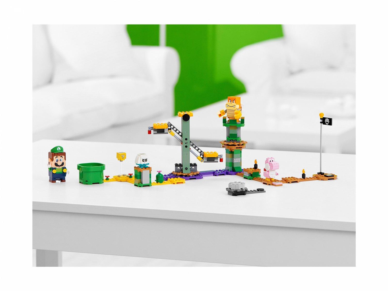 LEGO 71387 Przygody z Luigim — zestaw startowy
