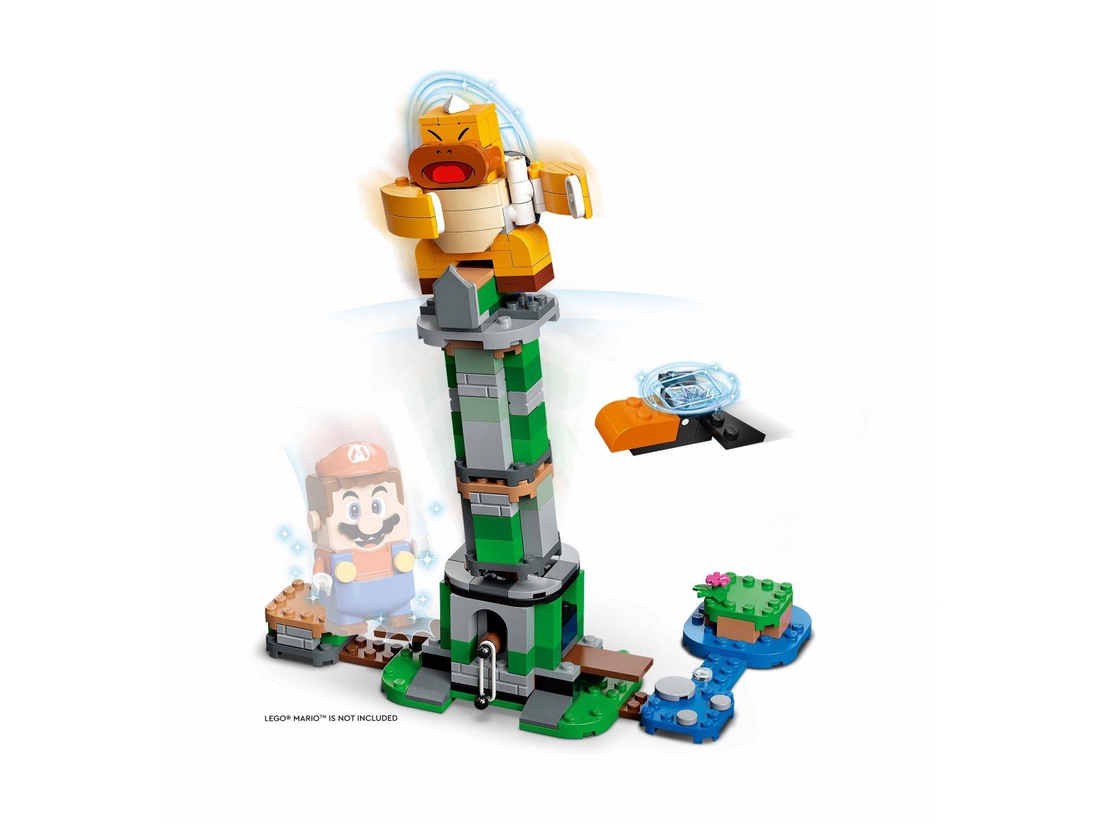 LEGO Super Mario Boss Sumo Bro i przewracana wieża — zestaw dodatkowy 71388