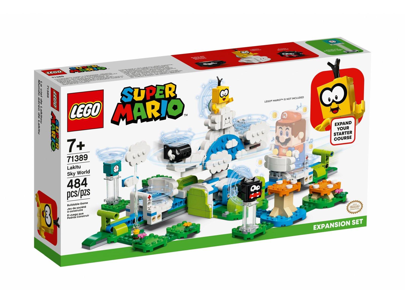 LEGO 71389 Podniebny świat Lakitu — zestaw dodatkowy