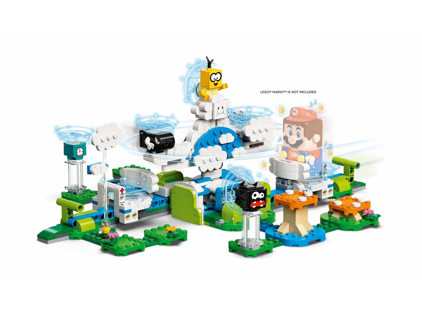 LEGO Super Mario 71389 Podniebny świat Lakitu — zestaw dodatkowy