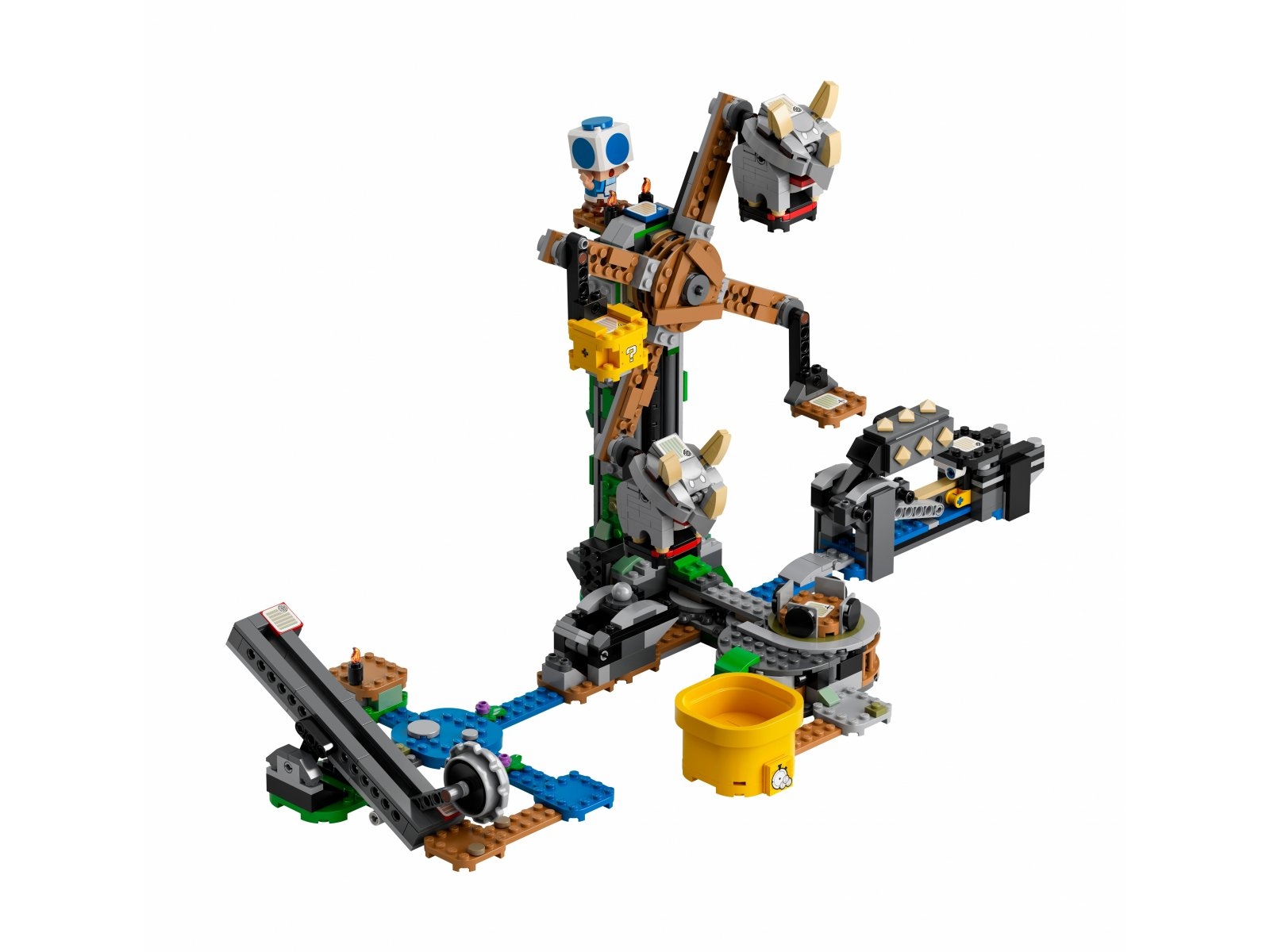 LEGO Super Mario 71390 Walka z Reznorami — zestaw dodatkowy