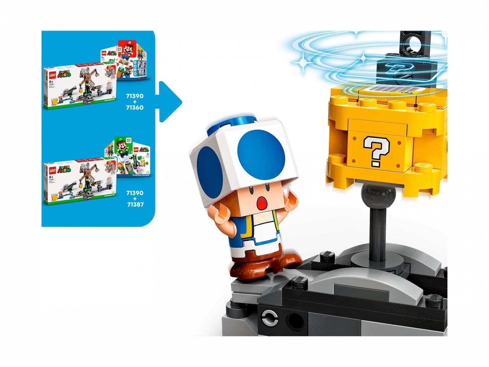 LEGO 71390 Walka z Reznorami — zestaw dodatkowy