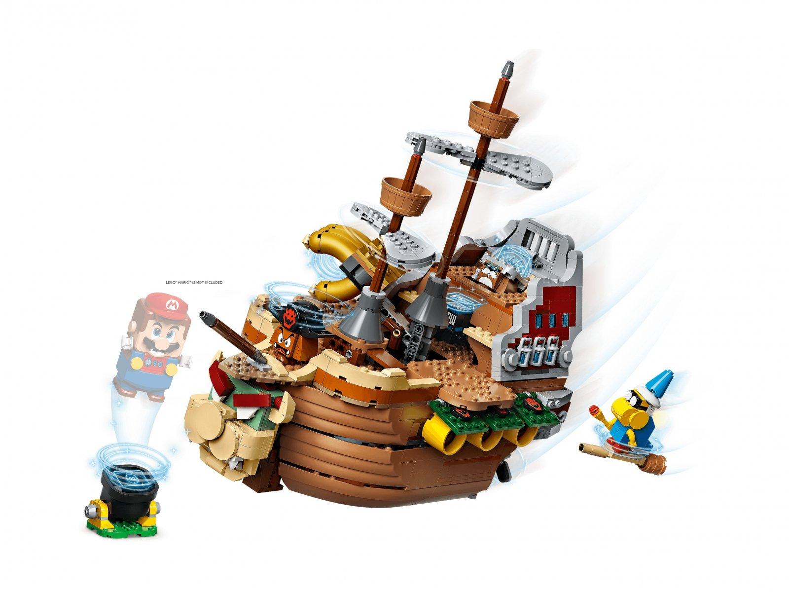 LEGO 71391 Super Mario Sterowiec Bowsera — zestaw dodatkowy