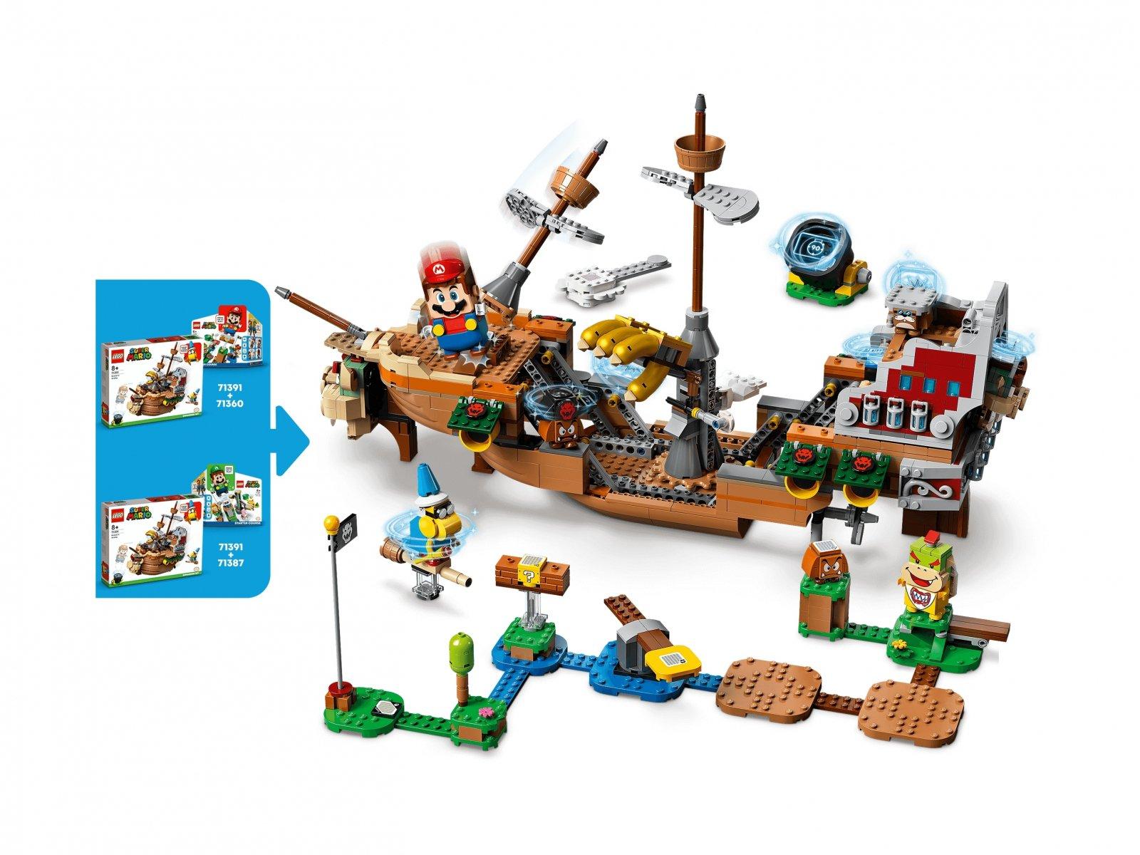 LEGO 71391 Sterowiec Bowsera — zestaw dodatkowy