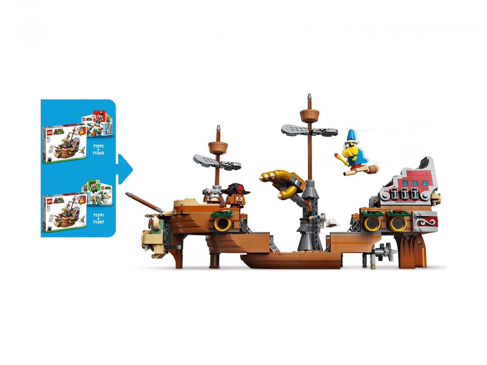 LEGO Super Mario Sterowiec Bowsera — zestaw dodatkowy 71391